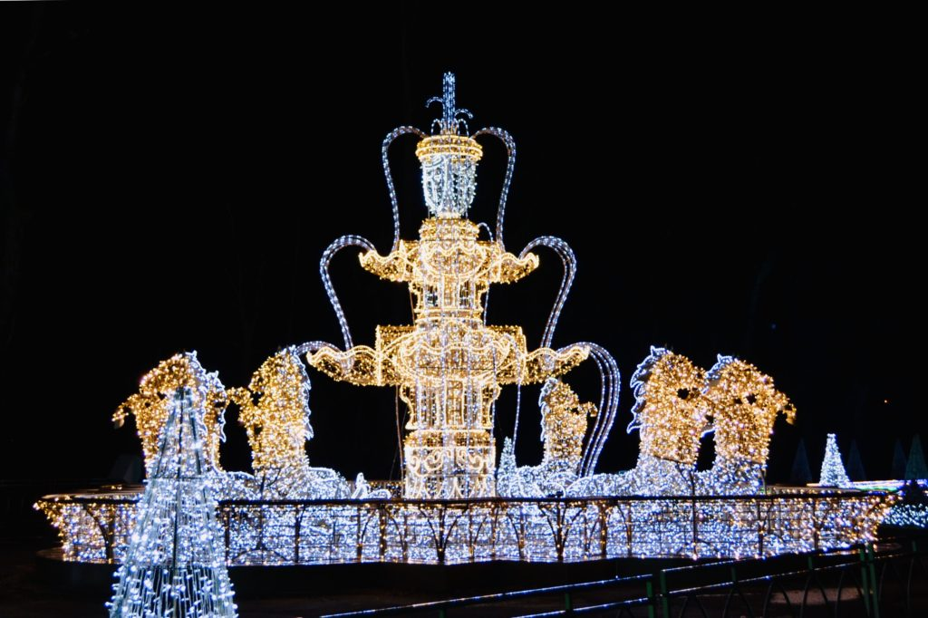 Królewski Ogród Światła, Wilanów,