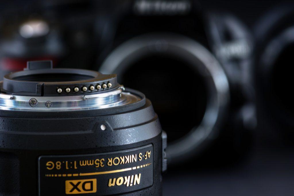 Nikon, obiektyw
