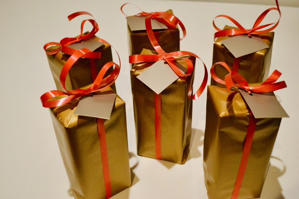 zero waste, pakowanie prezentów